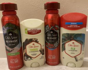 ❤️ New Men's Old Spice SPRAY & Deodorants ❤️ for Sale in Joint Base Lewis-McChord, WA