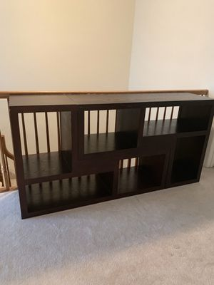 Raymore & Flanagan Bookcase/ Console Table for Sale in Princeton, NJ