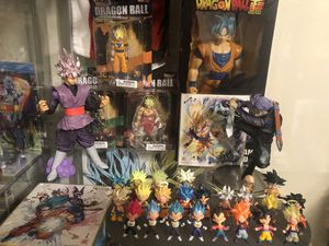 Dragon ball super toys action figure for Sale in Orlando, FL