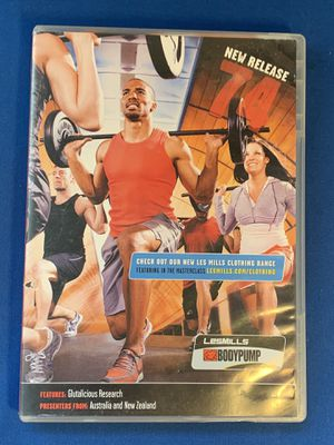 Les Mills BodyPump Release 74 DVD and Notes - (MIssing Music CD). Playing good. for Sale in Lauderhill, FL