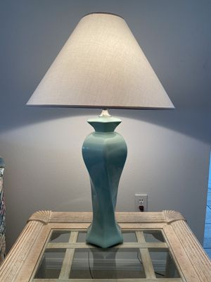 2 Green Lamps for Sale in Haines City, FL
