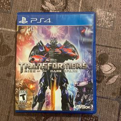 Transformers Rise Of The Dark Spark for Sale in San Bernardino, CA