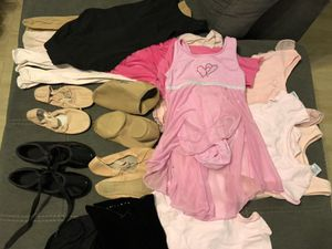 Ballet, tap, jazz, shoes and Leos and tights for Sale in New Port Richey, FL