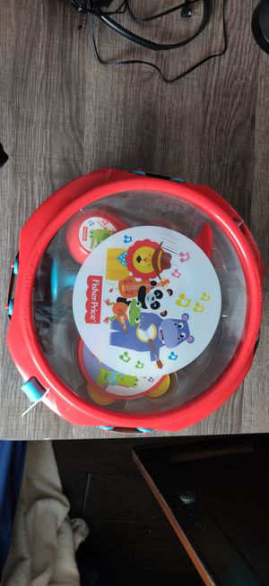 Fisher-Price(TM) Rainforest Musical Band Drum Set for Sale in Tustin, CA