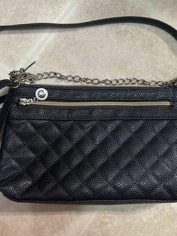 Black quilt design shoulder purse for Sale in New York,  NY