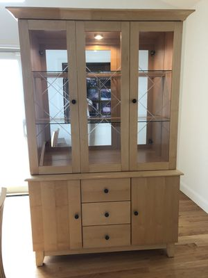 Jordan's Dining Room Hutch/China Cabinet for Sale in Winthrop, MA