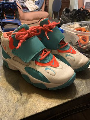 3Y air speed turf blue and orange nikes for Sale in AR, US