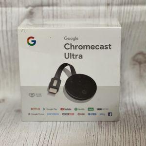 Google Chromecast Ultra 4k for Sale in Glendora, CA