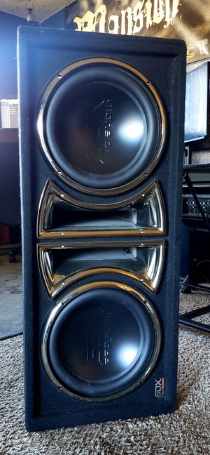 "SDX Pro Audio 12"" Dual Subs for Sale in Mission Viejo, CA"