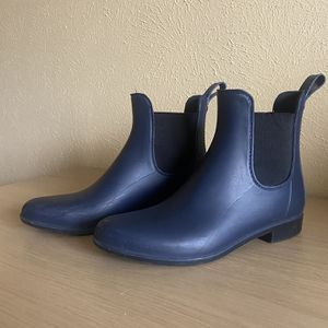 Sam Edelman Navy Chelsea Rain Boots Size 7 for Sale in Austin, TX