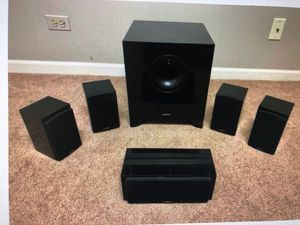 CNET editor choice Energy take classic speaker and subwoofer in original box for Sale in Vernon Hills, IL