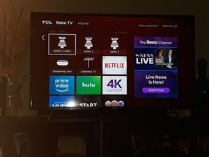 "First 1 is a TCL Roku 60"" smart and the other Element 4k 60"" smart tv's - ONLY FOR SALE for Sale in St. Louis, MO"