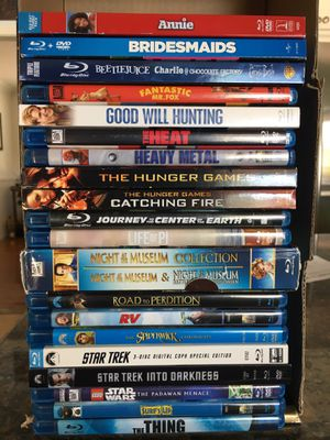 Blu-Ray movie sale - many new titles, animated, etc. for Sale in Phoenix, AZ