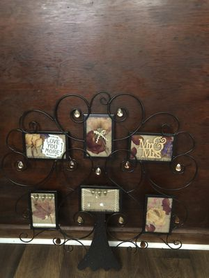 Tree metal picture frame for Sale in Greensboro, NC