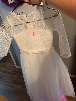 Flower Girl/Communion Dress size 14 for Sale in Somerdale, NJ