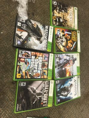 Xbox 360 games for Sale in Tomball, TX