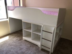 Twin bed with shelves/cubbies for Sale in Phoenix, AZ