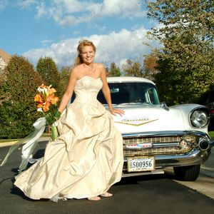 Light Gold Wedding Dress, perfect condition, veil not included. for Sale in Alexandria, VA