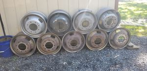 "Ford 17"" 8x200 dually wheels for Sale in La Plata, MD"
