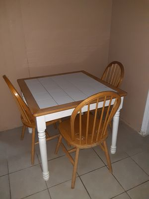 Breakfast room table for sale for Sale in Houston, TX