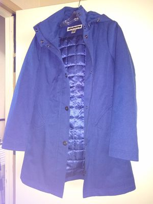 Women's small, S, insulated hooded quilted parka jacket coat, ocean blue, cost $300, Kristen Blake Nordstrom for Sale in San Diego, CA