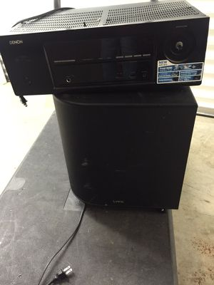 Selling Subwoofer and Connector great condition ASAP for Sale in Atlanta, GA