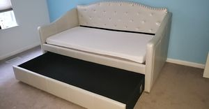 Twin size bed with trundle for Sale in Odenton, MD