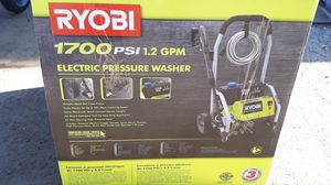 Ryobi Electric-power Pressure washer RY14122 for Sale in Bakersfield, CA