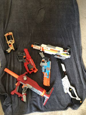Nerf Guns & bullets for Sale in Murfreesboro, TN