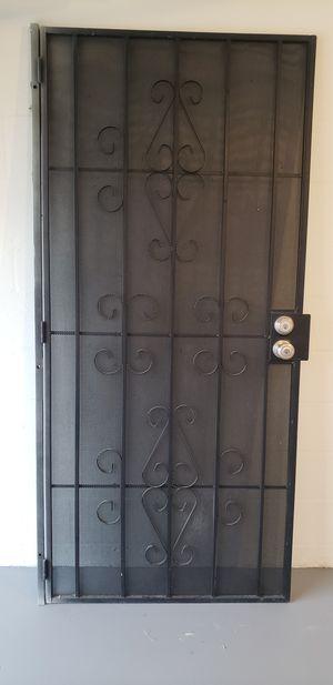 Black security door 36x80 for Sale in Hudson, FL