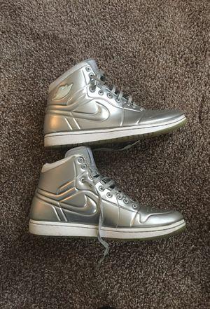 Silver Jordan 1's (Antidotes) for Sale in Pittsburgh, PA