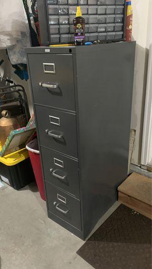 Hon 4 drawer Filing cabinet for Sale in Farmington, UT