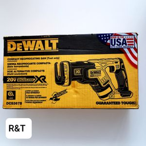 DEWALT 20-Volt MAX XR Lithium-Ion Cordless Brushless Compact Reciprocating Saw (Tool-Only) for Sale in Fullerton, CA