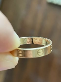 Cartier LOVE wedding band pink gold for Sale in Miami,  FL