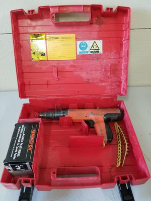 HILTI ACTUATED CONCRETE NAIL GUN for Sale in Las Vegas, NV