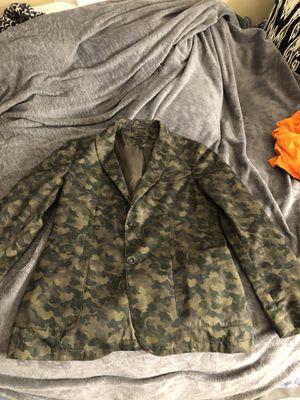 John Varvatos Camo blazer for Sale in Huntington Beach, CA