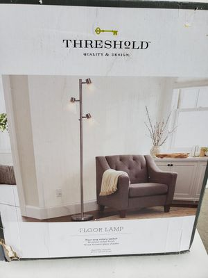Threshold Track Tree Floor Lamp (open box) all pieces accounted for. for Sale in Rio Rancho, NM
