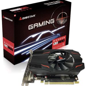 Biostar Radeon RX 550 4GB GDDR5 128-Bit DirectX 12 PCI Express 3.0 DVI-D Dual Link, HDMI, DisplayPort. Gaming Edition VA5515RF41-TBMRA-BS2 for Sale in Essex, MD