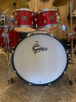 Gently Used Gretsch Drum Set (9 pieces) for Sale in St. Louis, MO