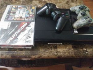Sony PS-3 w/ 4 games all hook up's in good shape for Sale in Knoxville, TN
