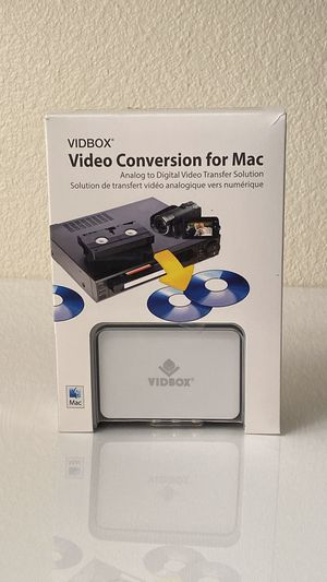 VIDBOX Video Conversion for MAC for Sale in North Highlands, CA