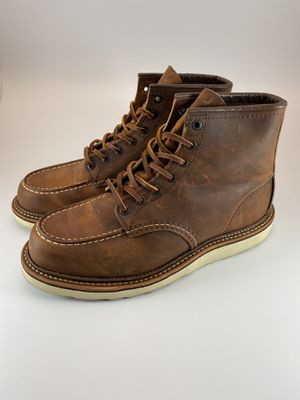 RED WING CLASSIC MOC MEN'S 6-INCH WORK BOOTS for Sale in West Covina, CA