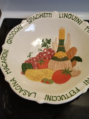 Hand made ceramic pasta dish set for Sale in Framingham, MA