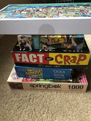 Puzzles and Game for Sale in Irving, TX