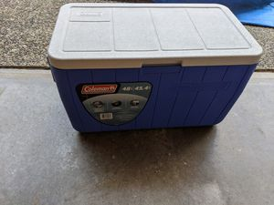 Blue cooler for Sale in Newcastle, WA