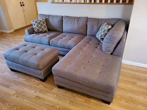 New Sofa and Ottoman 60% off for Sale in Whittier, CA
