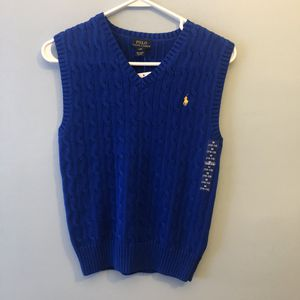 NWT Polo NWT Polo by Ralph Lauren Boys Sweater Vest Medium for Sale in Philadelphia, PA