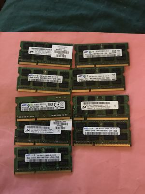 DDR 3 10600 2 GB Sticks HP Spare Parts Ram Memory for Sale in Leesburg, VA