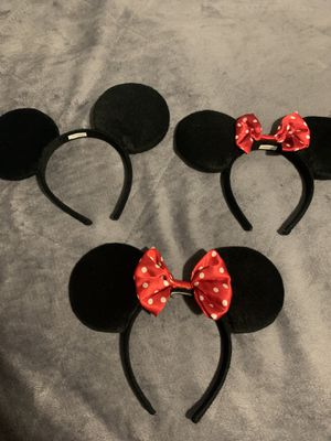 Disney Minnie/Mickey mouse ears for Sale in Aloha, OR