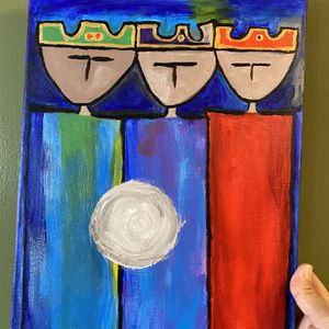 Acrylic Painting 3 Kings for Sale in Casselberry, FL